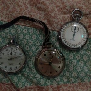 1900s stop watches and pocket watch